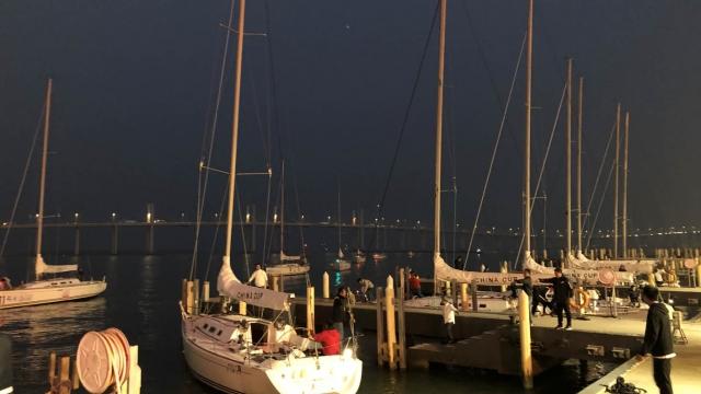 兩項國際帆船大賽周四揭戰幔