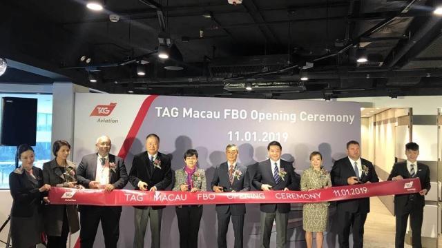 國際機場第二家商務、通用航空 固定基地營運商(FBO)正式開幕