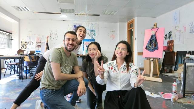 理工視覺藝術課程 提供國際交流機會