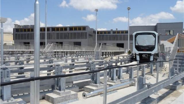 輕軌氹仔線下半年通車 日營運十九小時 設逾一百節車廂
