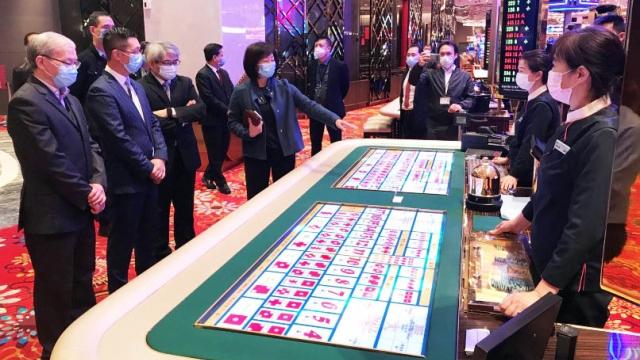 三局巡查賭場防疫措施 監察確保僱員客人健康