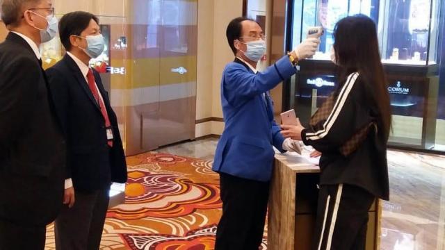博監局跟進賭場防疫不戴口罩需即時離開