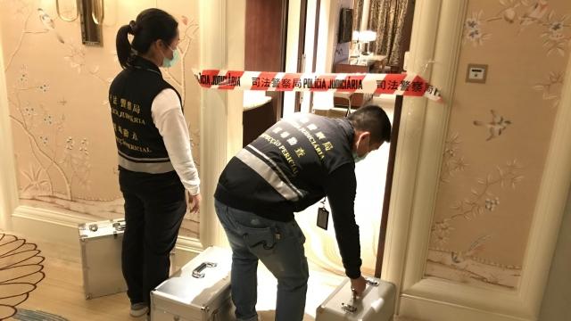 男子伏屍路氹城酒店司警循兇殺方向調查