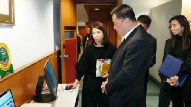 經財司巡視屬下部門 防風險提升經濟韌性