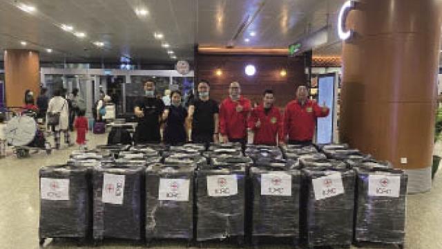 緬甸華僑愛心捐贈馳援寧波抗疫前線