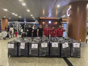 緬甸華僑捐贈逾廿四萬口罩予浙江省寧波市紅十字會.JPG