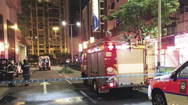 內地男酒店避火層跳樓 飛墮街頭身亡司警調查