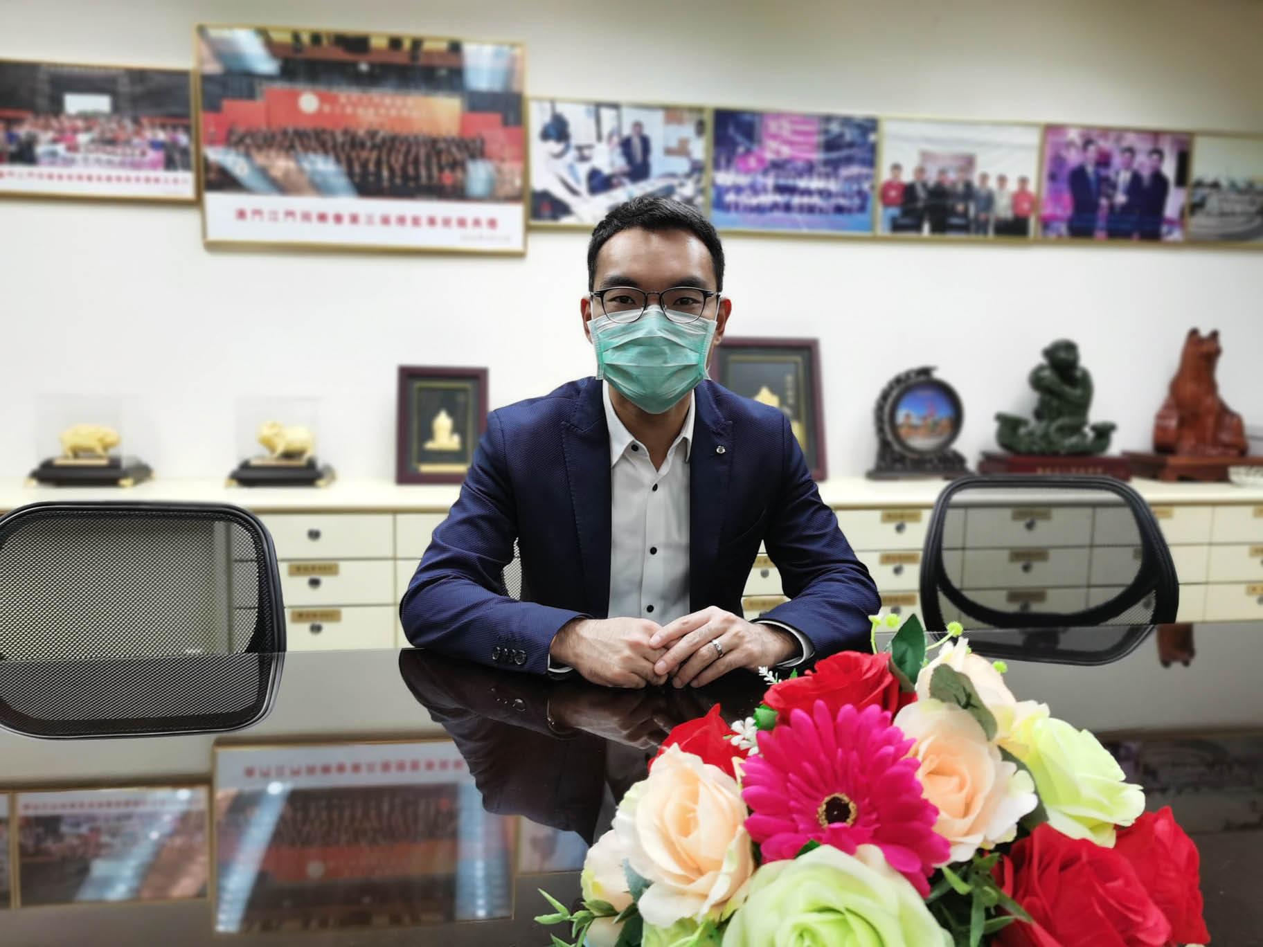 夏俊英希望政府加大對中小企業援助.JPG