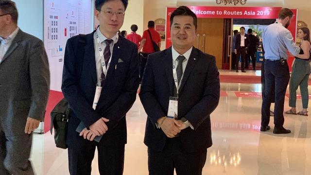機場代表出席亞洲航線發展論壇
