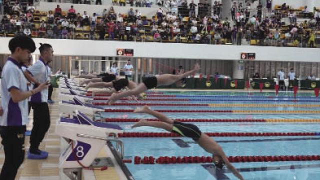 澳門短池分齡泳賽揭戰幔