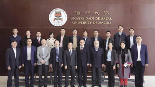 珠海市副市長閻武 訪澳大促科技合作
