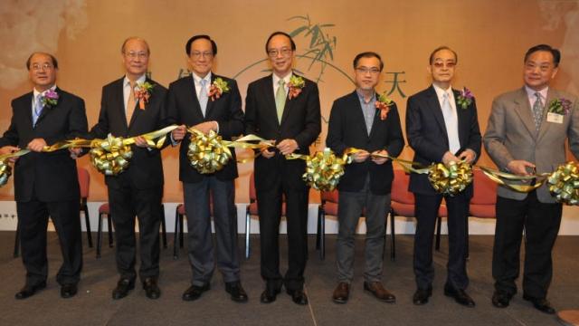 甲子書學會會員書法作品展香港揭幕