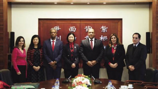 葡語國家駐澳代表 訪理工促高教合作