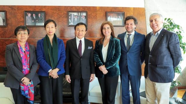 譚司與葡國務秘書會面 探討兩地旅遊多項合作