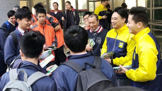 警校聯合防罪巡查 共接觸逾二千青少