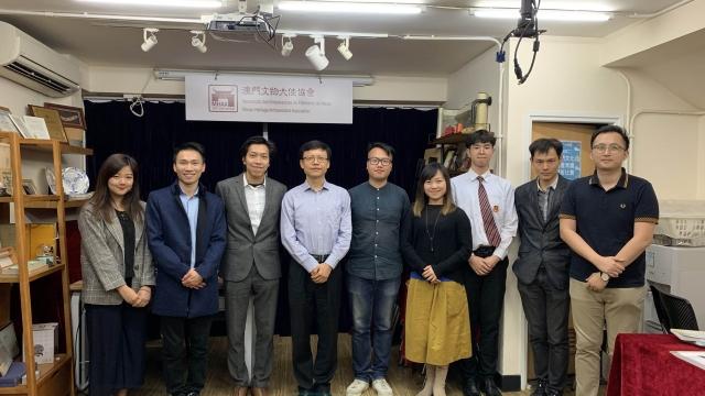 辛建波晤兩文化社團談文化保育