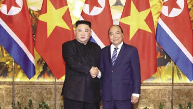 金正恩結束對越南的正式友好訪問