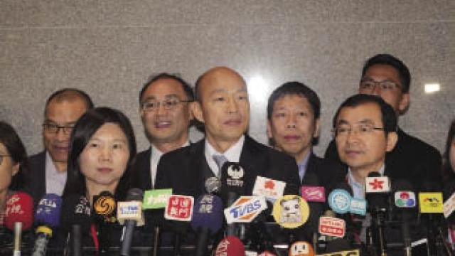 韓國瑜離澳轉內地訪問 冀高雄經濟有更好發展