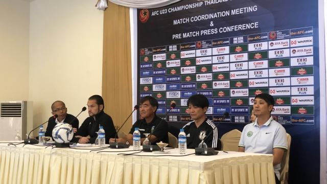 U二十三亞洲盃外圍賽澳門今拼日本