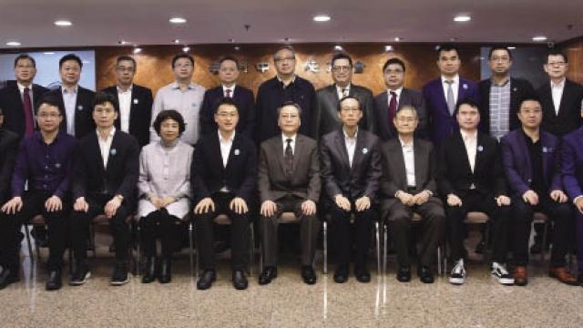 廣州天河區委常委謝偉訪中總 冀加強聯繫促進兩地合作發展
