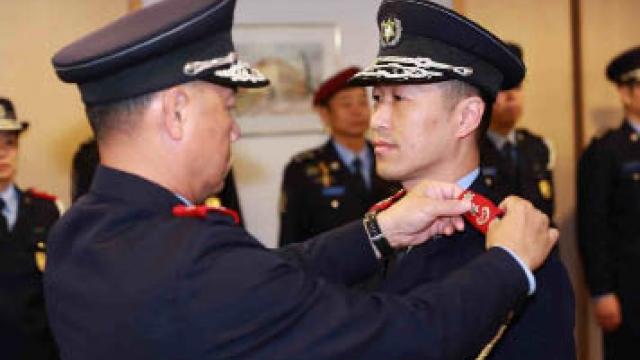 治安警察副局長 黃偉鴻正式就任