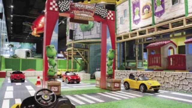 澳門首個大型憤怒鳥遊樂中心進駐十六浦