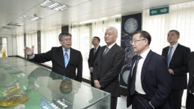 科技部王志剛部長蒞臨考察科大 冀把握機遇發揮「國際化」作用