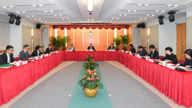 維護國安委員會 商最新工作情況