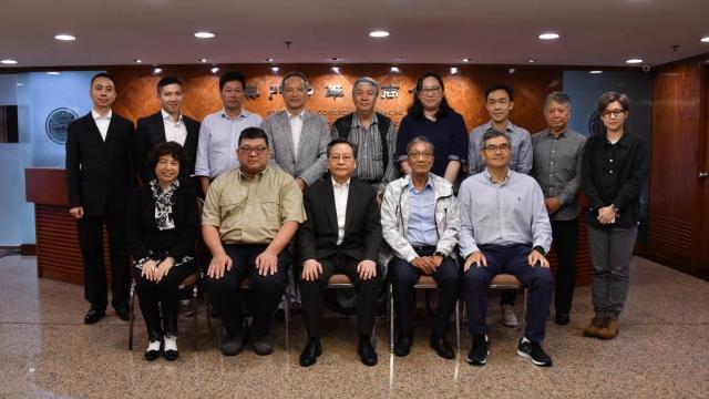航運業同業公會負責人到訪中總 冀為業界經營發展給予幫助指導