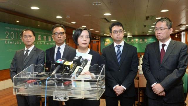 行政長官選委選舉 下週起領取報名表