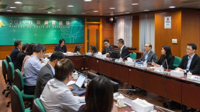 行政長官選舉委員會 議員廿二名單已提交