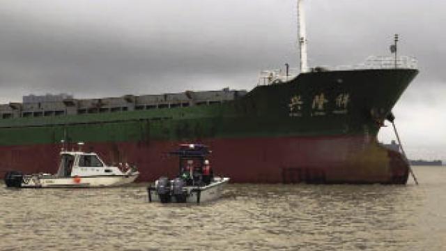 調頭撞毀澳氹橋護欄 海關截貨船罰款賠償