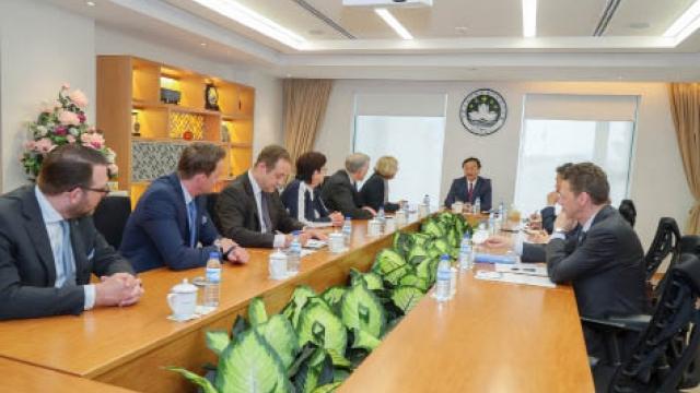 譚俊榮會晤奧地利州長 共商加強旅遊文化合作