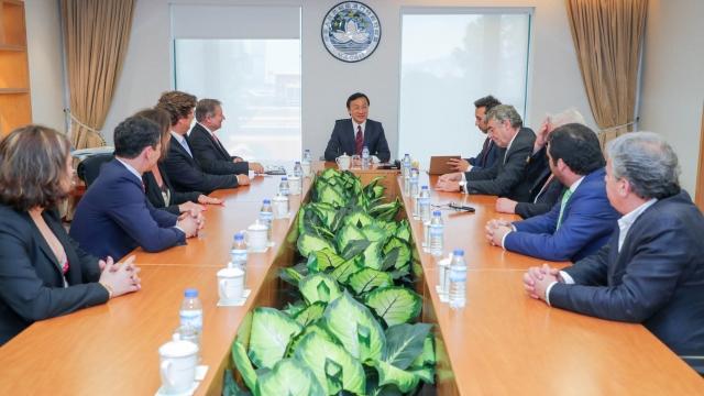 譚司晤葡旅社協主席 就加強合作交換意見