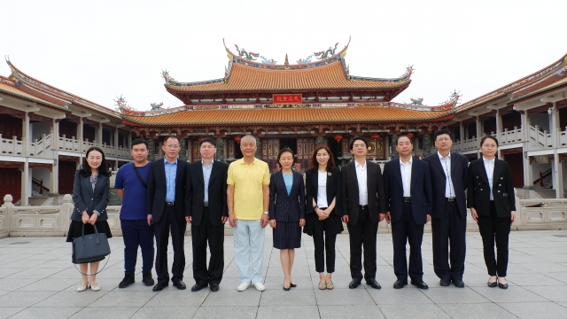 閩副省長郭寧寧到訪福總 勉繼續發揮橋樑紐帶作用