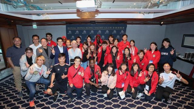 體記兩代表赴港參加國際培訓營