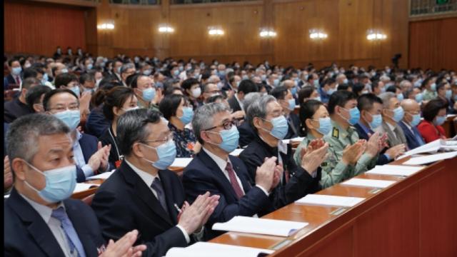 十三屆全國人大三次會議舉行第二次全體會議
