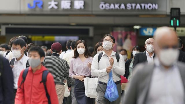 日本解除大阪等關西三地緊急狀態