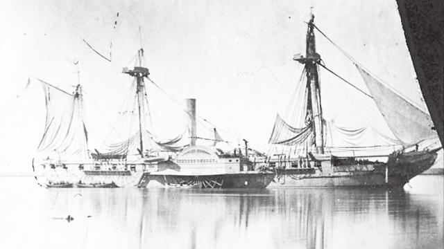 美國黑船敲開日本國門後到澳門補給