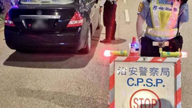 警反罪惡截查百人檢控三宗交通違例
