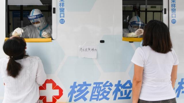 北京百萬名外賣、快遞員完成核酸檢測