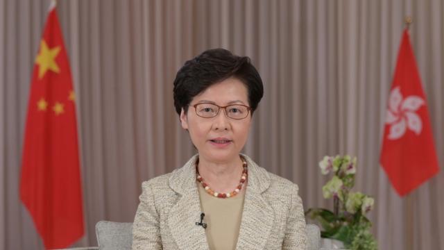 林鄭月娥:維護國安法是香港確保_社會穩定、恢復憲制秩序的重要舉措