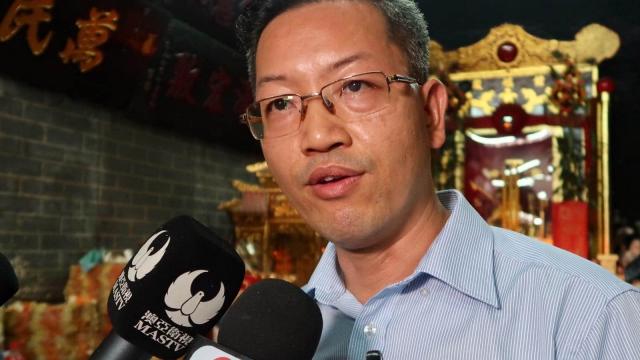 梁國洲宣佈參選 第五屆行政長官