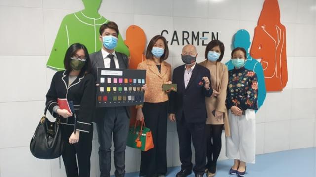 永利支持澳門製造採購可重用口罩