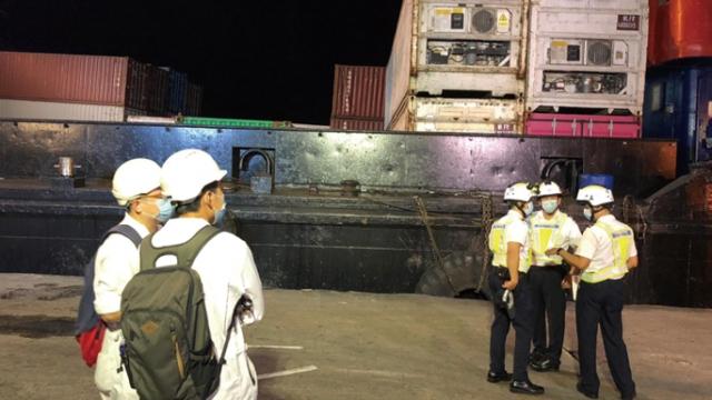 海事局加強巡查碼頭_籲業界注意作業安全