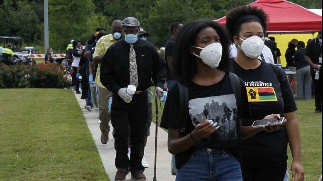 示威衝擊美國總統選舉更添變數