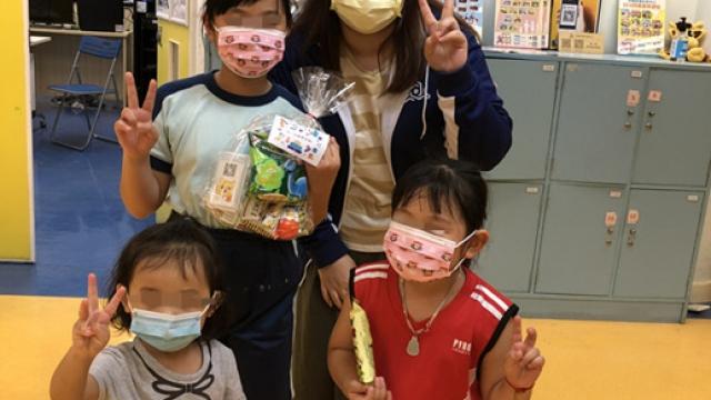 祐社為復課兒童派發抗疫小禮包