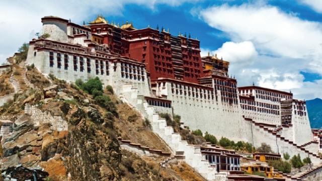 中國西藏宮堡式建築群──布達拉宮