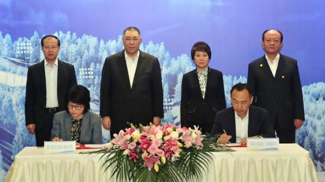 澳冀旅遊合作意向 特首河北見證簽署