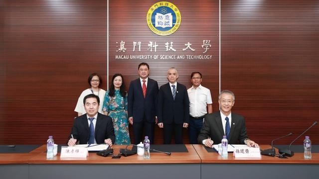 科大與廣外簽署聯盟章程_助推動灣區創意寫作發展